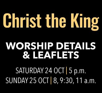 Worship Details for Christ the King