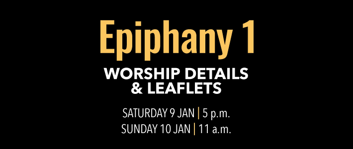 Worship Details for Epiphany 1
