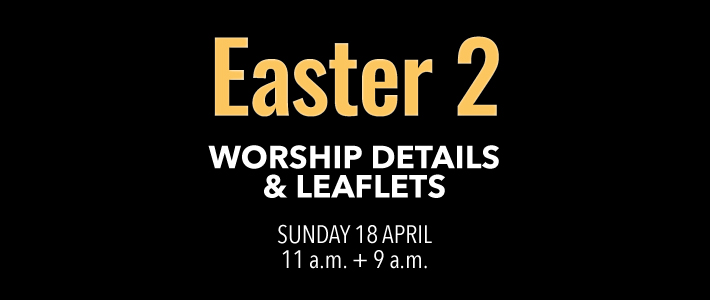 Worship Details for Easter 2