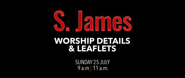 Worship Details for St. James the Apostle